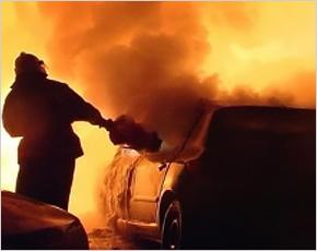 Эпидемия сгоревших автомобилей в Новозыбкове: горел Nissan Qashqai