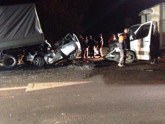 Под Брянском столкнулись 4 автомобиля— ранены два человека