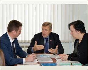 Председатель брянской «ОПОРЫ РОССИИ» провёл заседание Наблюдательного совета при бизнес-инкубаторе