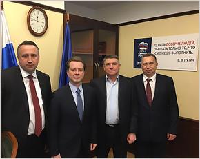 Руководство брянской «Единой России» перед Новым годом провело рабочую встречу в ЦИК партии