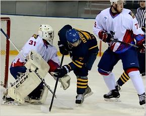 Хоккейный «Брянск» разгромно проиграл в Пензе «Дизелисту»
