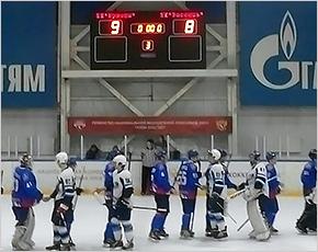 Хоккейный «Брянск» повторно обыграл «Россошь» в самом весёлом матче сезона
