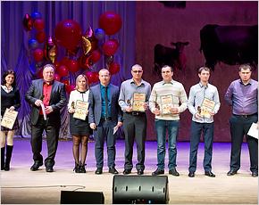 Лучшие животноводы «Мираторга» получили профессиональные награды — «Золотых бычков»