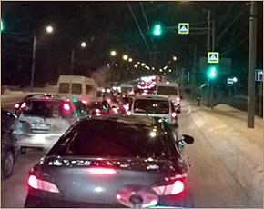 За день в Брянске оформлено три десятка ДТП с материальным ущербом