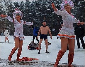 «Брянские русалки» приняли участие в «Русской удали-2017»