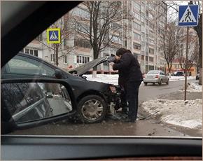 На Валентинов день в Брянске оформлено 37 ДТП с материальным ущербом
