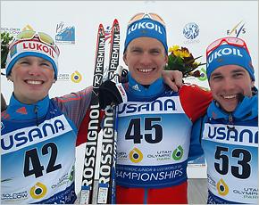 Брянский лыжник Александр Большунов стал чемпионом мира