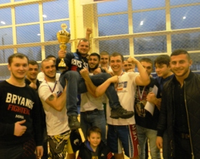 Bryansk Fighters выиграли IV открытый чемпионат Брянской области по ММА