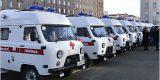 Двенадцать ЦРБ Брянской области получили новые машины «скорой помощи»