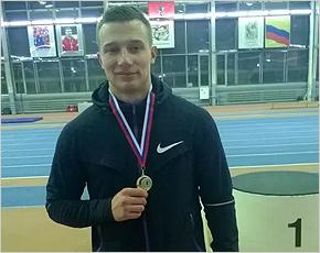 Брянский спортсмен выиграл золото зимнего легкоатлетического чемпионата России