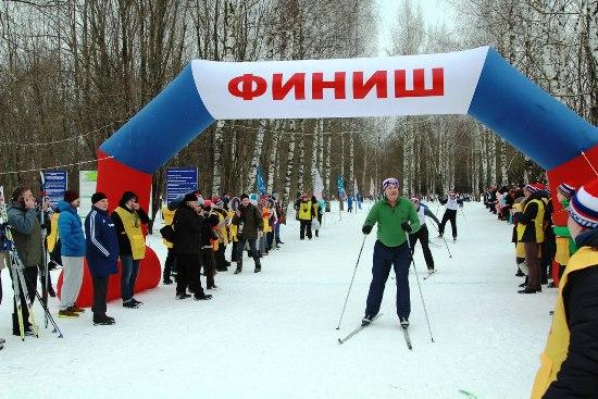 «Лыжня России-2017» вПерми прошла при 30-градусном морозе