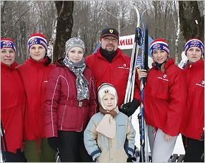Сотрудники «Брянсксельмаша» приняли участие в «Лыжне России-2017»