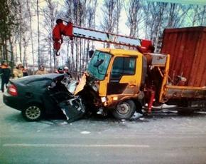 20-летний водитель «Приоры» погиб в лобовом столкновении под Выгоничами