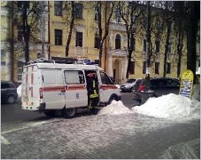 Из горящей многоэтажки на Горького в Брянске эвакуировано пять человек