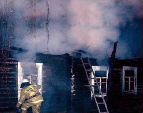 В ночном пожаре в Брасовском районе погиб мужчина