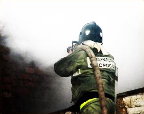 МЧС сообщает: в пожаре в Клетне наличествует «пострадавший»