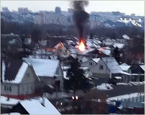 ГУ МЧС сообщает: в четверг в регионе сгорело два жилых дома. И баня, напугавшая Новостройку