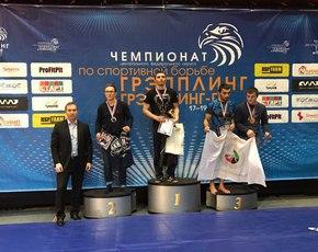 Брянские спортсмены с победой вернулись с первенства ЦФО по грэпплингу