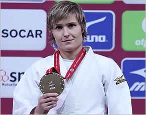 Наталия Кузютина завоевала «бронзу» на турнире «Большого шлема» в Париже