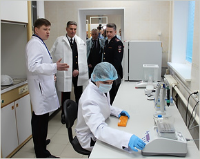 У брянской полиции появилась ДНК-лаборатория стоимостью 30 млн. рублей