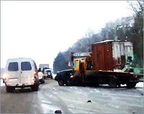 Молодой водитель погиб в ДТП с грузовиком в Выгоничском районе