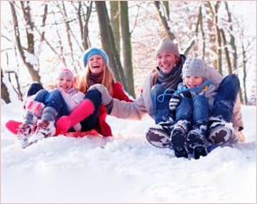 Семьи Брянска соберутся в парке имени Толстого на «Зимние забавы»