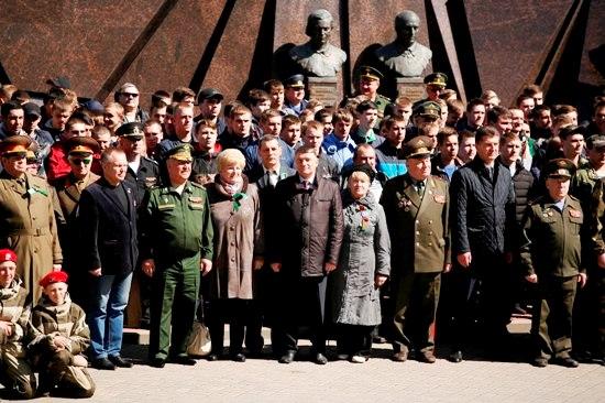 На «Партизанской поляне» прошёл «День призывника» для 400 будущих солдат