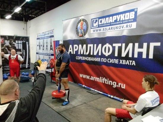 Сергей Кулясов выиграл абсолютный зачёт Athletics Strong Hands Grand Prix 2017