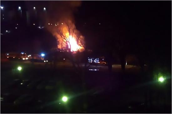 При пожаре наулице Бежицкой вБрянске пострадали люди