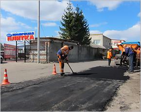 В Брянске продолжается ямочный ремонт, который «мало решает проблему плохих дорог»