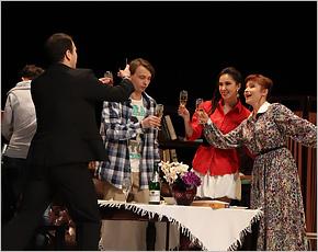 Труппа брянского драмтеатра отправилась в гастрольный тур в областную «глубинку»