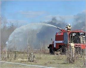 На учения МЧС в Брянской области вышли 4 тыс. человек и 1200 единиц техники