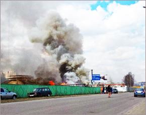 МЧС сообщает: за одни сутки в регионе потушено шесть пожаров