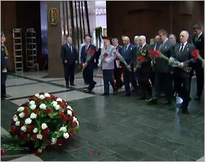 Иван Кашин и Александр Постоялко участвовали в праздновании 25-летия Российской ассоциации Героев