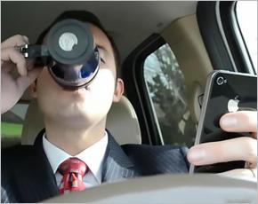 Исследование: водители пользуются телефонами в 88% поездок