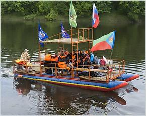 В Сураже стартовал молодёжный фестиваль «По волнам Ипути-2017»