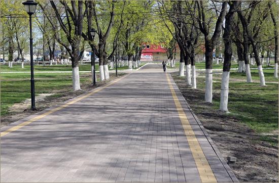 В Брянске стартовал «парково-фонтанный» сезон (ФОТО)