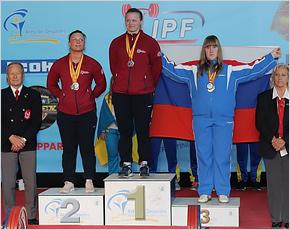 Климовская спортсменка завоевала третье место на первенстве Европы по пауэрлифтингу