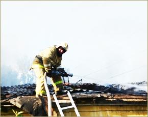 ГУ МЧС сообщает: в среду в Брянске сгорела дача