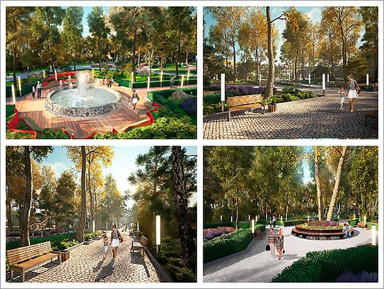 Дизайн-проект реконструкции парка в Новозыбкове будет готов к концу июня
