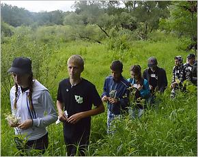 «Брянский лес» устроил экскурсию для школьников с «Заповедных островов»