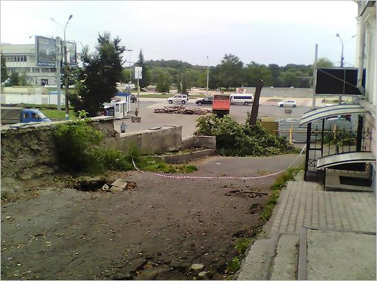 Александр Богомаз проследит заремонтом лестницы набульваре Гагарина