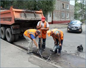 Первый этап обустройства ливнёвки в Фокинке выполнен на 85%