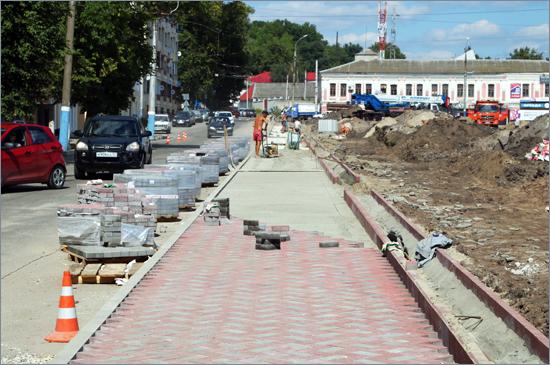В верхней части лестницы бульвара Гагарина проложено 70% инженерных сетей (ФОТО)
