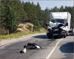 На брянских дорогах — два ДТП с большегрузами за одно утро