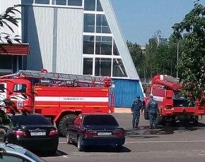 В День физкультурника в новозыбковском ФОКе едва не случился пожар