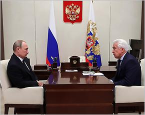 Владимир Путин поддержал идею о проверке Генпрокуратурой обращений обманутых дольщиков