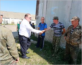 «Если есть юридическая возможность, то Севск войдёт в программу «Земский доктор» — Борис Пайкин