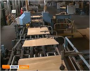 В Белой Берёзке инвесторами заново запущен Брянский фанерный комбинат