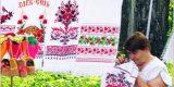 В «Городе мастеров…» победила Галина Шумакова с вышивкой в народном стиле (ФОТО)